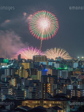 淀川花火の写真素材 [FYI03386317]
