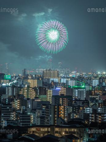 淀川花火の写真素材 [FYI03386318]