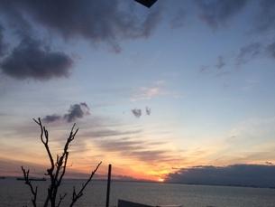 夕日1の写真素材 [FYI03386399]