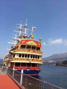 海賊船の写真素材 [FYI03386400]
