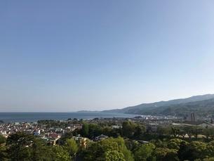 丘からの景色の写真素材 [FYI03386407]