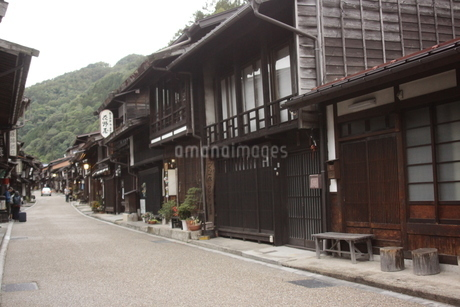 奈良井宿の写真素材 [FYI03386771]
