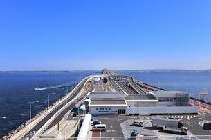 東京湾アクアライン 海ほたるの写真素材 [FYI03386799]