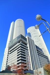 名古屋駅前の高層ビル群の写真素材 [FYI03386812]