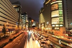 大阪梅田の夜景の写真素材 [FYI03386824]