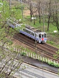 新潟電車の写真素材 [FYI03386880]