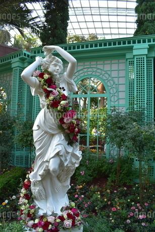 花と女神の写真素材 [FYI03387117]