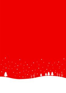 クリスマス 雪の背景素材のイラスト素材 [FYI03387682]