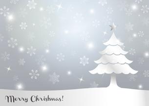 クリスマスツリー 背景イラストのイラスト素材 [FYI03387707]