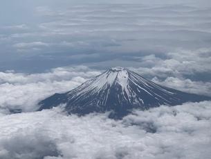 見下ろす富士の写真素材 [FYI03387711]