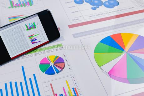 ビジネスイメージ グラフの写真素材 [FYI03388136]