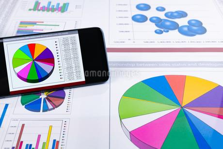 ビジネスイメージ グラフの写真素材 [FYI03388138]