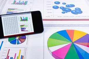ビジネスイメージ グラフの写真素材 [FYI03388139]