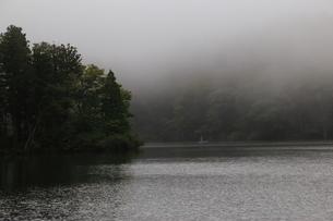 朝の湖畔の写真素材 [FYI03389230]