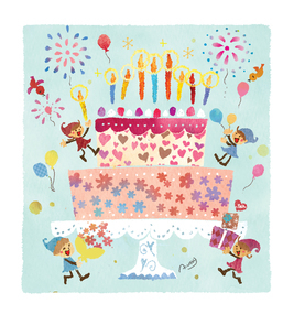 Happy Anniversaryのイラスト素材 [FYI03389605]