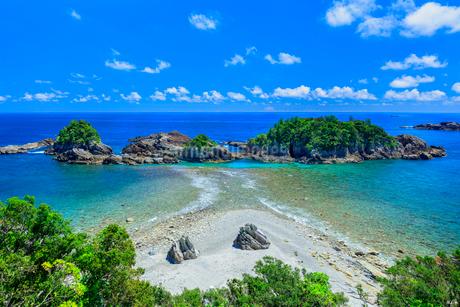 夏の黒島の写真素材 [FYI03389608]