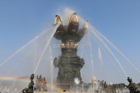 中国 無錫 霊山梵宮の写真素材 [FYI03389860]