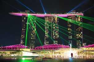 マリーナベイサンズ  シンガポールの写真素材 [FYI03389879]