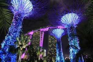マリーナベイサンズ  シンガポールの写真素材 [FYI03389880]