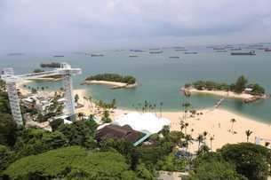 セントーサ島 シンガポールの写真素材 [FYI03389882]