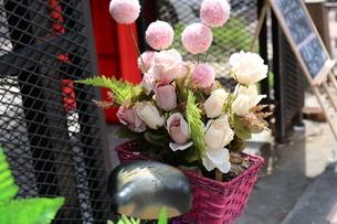 ピンク 花束の写真素材 [FYI03389900]