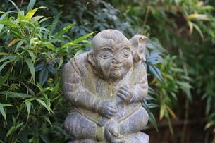 石の彫刻 お地蔵さん 地蔵の写真素材 [FYI03389903]
