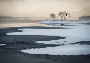 桧原湖 日本 福島県 北塩原村の写真素材 [FYI03389991]