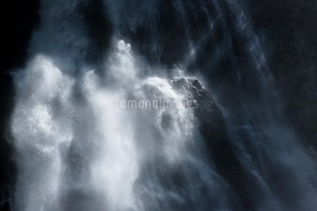 三条の滝 日本 福島県 南会津郡の写真素材 [FYI03390034]