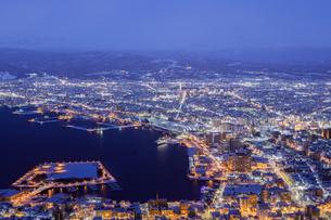 函館山 日本 北海道 函館市の写真素材 [FYI03390067]