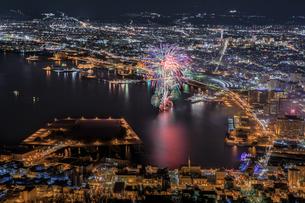 函館山 日本 北海道 函館市の写真素材 [FYI03390069]