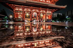 浅草寺 日本 東京都 台東区の写真素材 [FYI03390084]