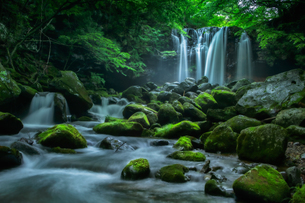 乙女の滝 日本 栃木県 那須塩原市の写真素材 [FYI03390087]