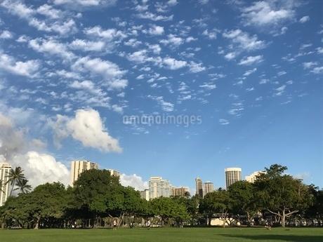 ハワイの空の写真素材 [FYI03390130]