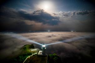 地球岬展望台 日本 北海道 室蘭市の写真素材 [FYI03390169]