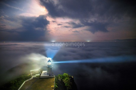 地球岬展望台 日本 北海道 室蘭市の写真素材 [FYI03390177]