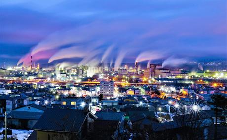 日本 北海道 室蘭市の写真素材 [FYI03390185]