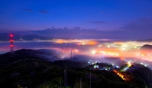 室蘭測量山 日本 北海道 室蘭市の写真素材 [FYI03390192]