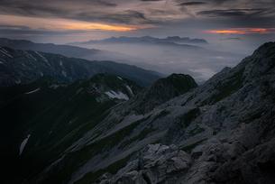 五竜岳 日本 富山県 黒部市の写真素材 [FYI03390274]