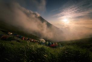五竜岳 日本 富山県 黒部市の写真素材 [FYI03390277]