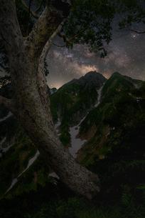 五竜岳 日本 富山県 黒部市の写真素材 [FYI03390279]