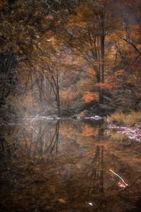 宇津江四十八滝公園 日本 岐阜県 高山市の写真素材 [FYI03390297]