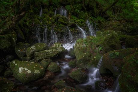 元滝伏流水 日本 秋田県 にかほ市の写真素材 [FYI03390324]