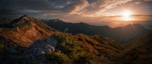 燕岳 日本 長野県 安曇野市の写真素材 [FYI03390328]