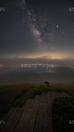 韓国岳山頂 日本 宮崎県 小林市の写真素材 [FYI03390333]
