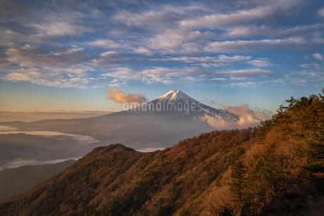 三つ峠山頂付近 日本 山梨県 西桂町の写真素材 [FYI03390336]