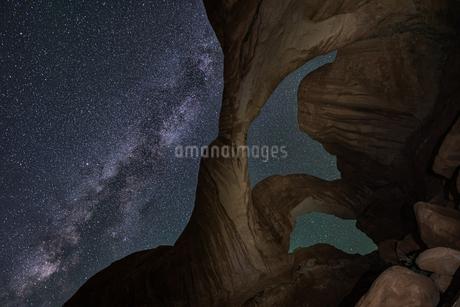 arches national park Estados Unidos Utah Moabの写真素材 [FYI03390372]