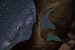 arches national park Estados Unidos Utah Moabの写真素材 [FYI03390372]