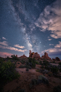 arches national park Estados Unidos Utah Moabの写真素材 [FYI03390373]