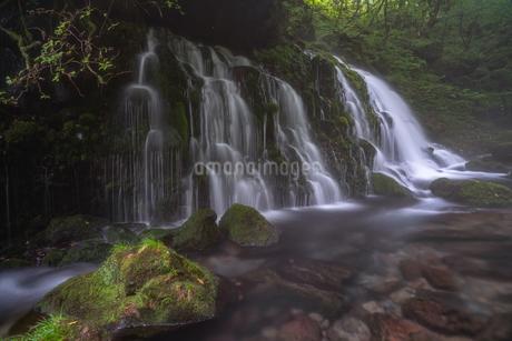 元滝伏流水 日本 秋田県 にかほ市の写真素材 [FYI03390374]