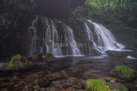 元滝伏流水 日本 秋田県 にかほ市の写真素材 [FYI03390375]